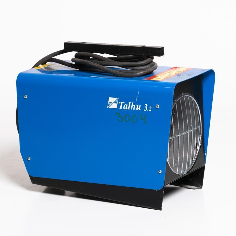 Sähkökäyttöinen lämpöpuhallin < 3kw, 230v