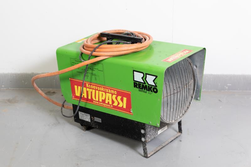 Nestekaasukäyttöinen lämpöpuhallin < 30kw, 230v