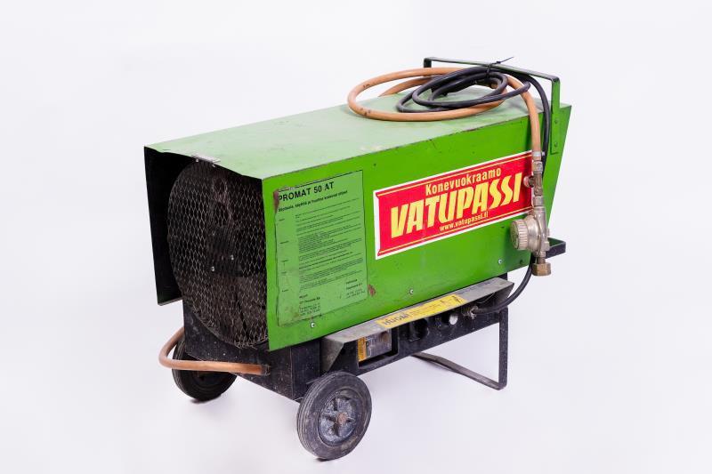 Nestekaasukäyttöinen lämpöpuhallin < 55kw, 230v