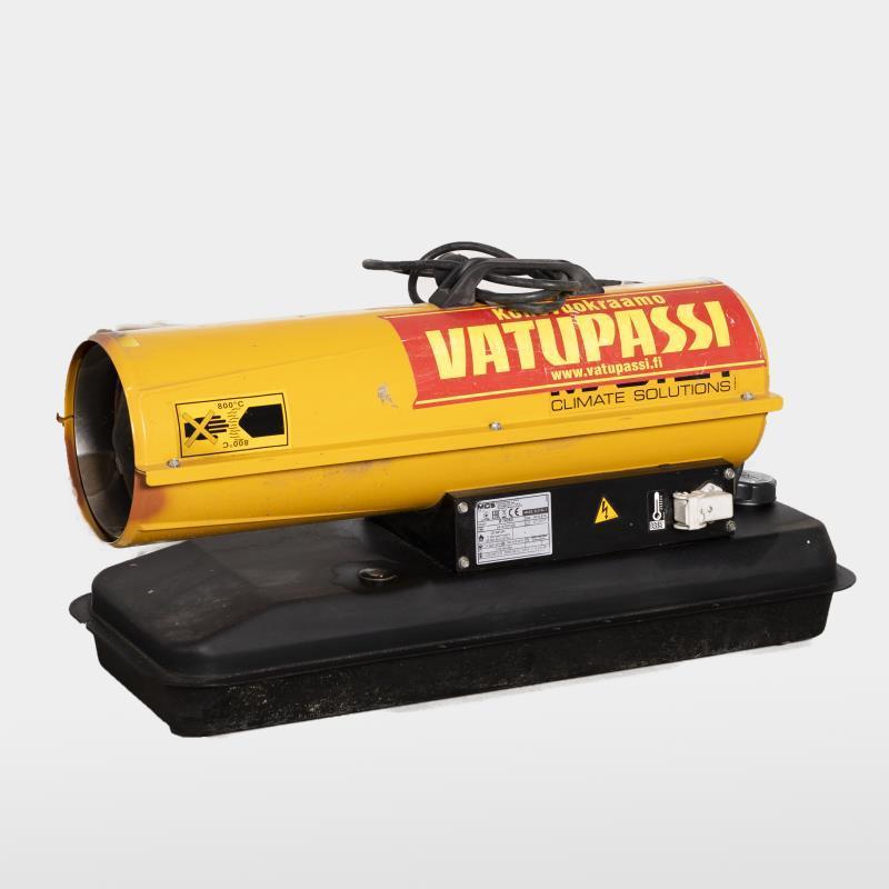 Polttoöljykäyttöinen lämpöpuhallin < 15kw, 230v