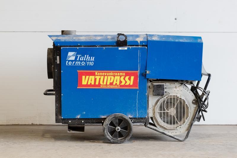 Polttoöljykäyttöinen lämpöpuhallin < 120kw, 230v
